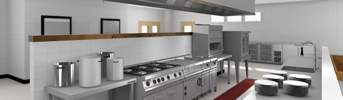 Microcad software soluciones for Diseno de cocinas industriales